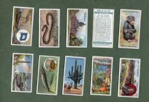 Cigarette cards set 1924 Knowledge & Information ,Cutting a Diamond, etc